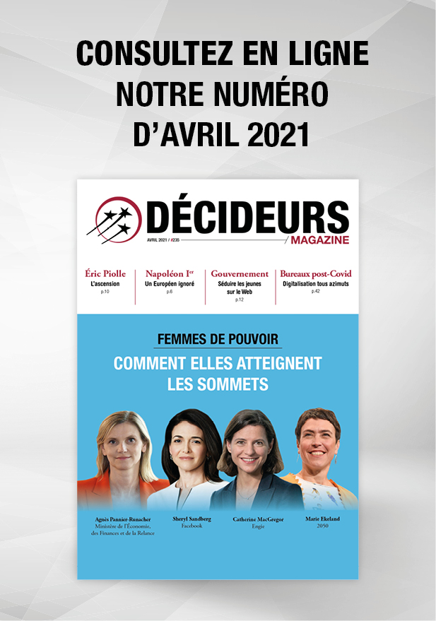 Décideurs Magazine Avril 2021