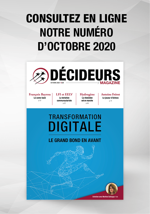 Décideurs Magazine Octobre 2020